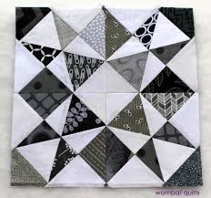 The beauty of the Altantic Sea | WOMBAT QUILTS & grey white block Adamdwight.com