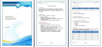 Microsoft Word Template Report Ms Word Report Template Under Fontanacountryinn Com