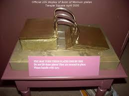 gold plates replica book of mormon