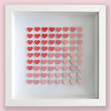 diy wall art heart