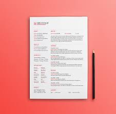 Best Free Resume Template 100 Best Free Resume Templates For 100 Updated Stylish Indesi 96