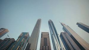 modern architecture skyscrapers. Plain Skyscrapers Skyscrapers With Stainedglass Facades In The UAE Stone Jungle Modern  Architecture And High Buildings Dubai Busy Vehicular Traffic And Modern Architecture O