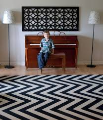 catchy black and white striped area rug black and white chevron rug roselawnlutheran