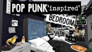 Punk Bedroom The Sims 4 Speed Build Pop Punk Inspired Bedroom Youtube