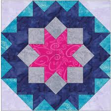 Pattern Block Template Cool Dutch Rose Star Paper Piece Template Quilting Block Pattern Etsy
