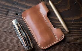 one star leather goods edc 1 caddy