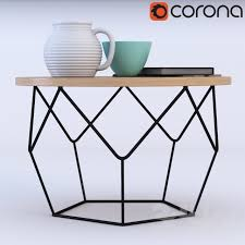 stunning 3d models table origami coffee table