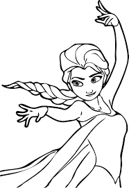 You are viewing some elsa printable sketch templates click on a template to sketch over it and color it in and share with your family and friends. Free Printable Elsa Coloring Pages For Kids Best Coloring Pages For Kids