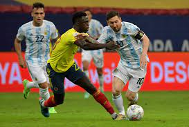 Argentina beat Colombia on penalties to ...