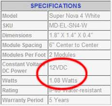 Neon Transformer Sizing Chart Led Tutorials Proper Power Supply For Your Led Project
