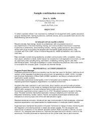 Sample Combination Resume Sample Combination Resume Format Combination Resume Format Resume 22