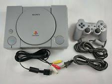 sony playstation 1. fat ps1 playstation 1 console [w/ mm3 mod, controller \u0026 cables] sony