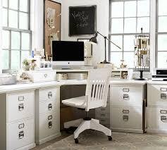 pottery barn bedford rectangular office desk. Pottery Barn BEDFORD CORNER DESK Antique White Home Office Furniture Sale Bedford Rectangular Desk