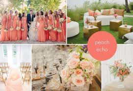 peach wedding colors. 2016s Hottest Wedding Colors PreOwned Wedding Dresses