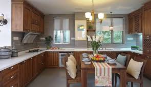 Kitchen Dining Simple Furniture In Kitchen And Dining Room Interior Design