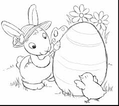 extraordinary easter bunny coloring pages printable with easter ...