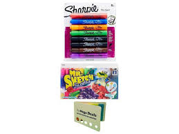 Flip Chart Markers Sharpie Flip Chart Markers Bullet Tip Assorted Colors 8 Count Mr Sketch Scented Markers Chisel Tip Assorted Colors 12 Count Includes 5
