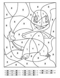 Pokemon is an international phenomenon with legions of fans throughout the world and it is extremely popular the pokemon xy coloring pages features back and white pokemon images. Color By Number Printables Pokemon Coloring Pages Pokemon Coloring Color By Number Printable