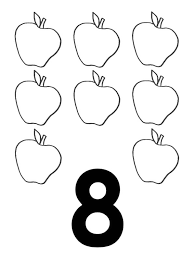 Small Picture 8 Colouring Page Free coloring pages of number eight Number