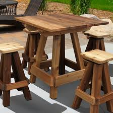 table bar height chairs diy: bar height picnic table w the burn look to it x and x  value price projects to try pinterest picnic tables bar and tables