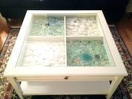coffee table with display case display coffee table display coffee table coffee table display case glass