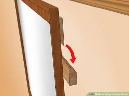 image titled hang a heavy mirror step 22
