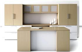 wood office cabinets with doors. full image for this modern office furniture arrangement consists of executive desk kneehole computer credenza overhead wood cabinets with doors
