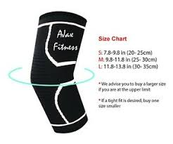 Elbow Sleeve Size Chart Details About Ajax Fitness Compression Elbow Sleeve One Piece Free Shipping