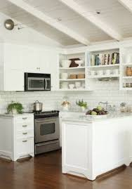 Kitchen With Vaulted Ceilings Small Open Kitchen Designs With Vaulted Ceiling And White Cabinets