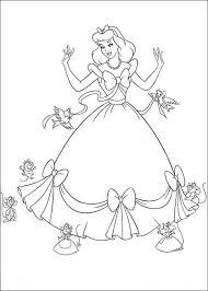 Small Picture Cinderella Dressing Up Coloring Page Cinderella pages of