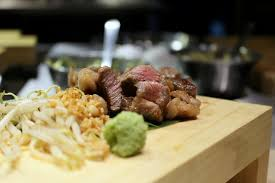 The Place At a quiet stretch of Robertson Walk, facing the Mohamed Sultan  Road, Teppan Bar Q is relatively new Japanese-Spanish inspired Teppanyaki-styled  ...
