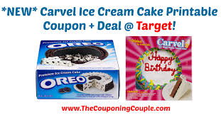 new carvel ice cream cake printable coupon deal target