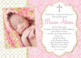 Catholic Baptism Invitations Girl Catholic Baptism Invitations First Communion Baptism