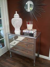 dresser with mirror lend appearance
