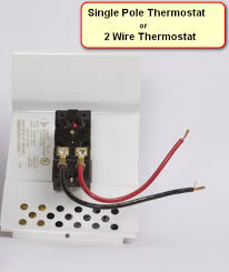 single pole vs double pole thermostat complete guide best 4 Wire Thermostat Wiring Diagram at Wire Diagram For 4 Pole 240v Thermostat