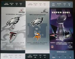 And our resident eagles fan krystle rich took a step further and tricked both patriots and vikings fans into singing the eagles song. Philadelphia Eagles Super Bowl Nfl Tickets For Sale Ebay