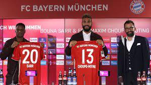 FC Bayern präsentiert Neuzugänge Choupo-Moting und Sarr