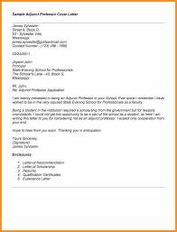 6 letter to a professor cook resume sample cover letter adjunct instructor