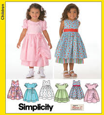 Toddler Dress Patterns Simple Simplicity 48 Toddler Dresses