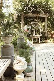 secret garden victorian cottage style patio exterior design ...