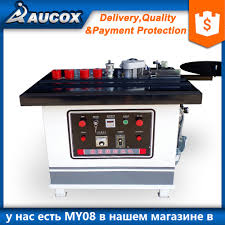 My 08 Double Glue Cover Woodworking Manual Edge Banding Machine For
