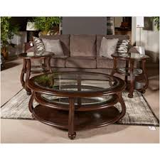 t819 6 ashley furniture yexenburg living room round end table