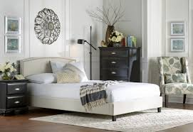 three posts queen upholstered platform bed  reviews  wayfair