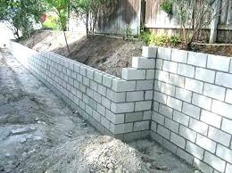 menards cinder blocks cinder blocks garden retaining wall garden retaining wall blocks cinder block retaining wall with the menards cinder block cap