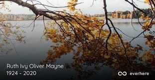 Ruth Ivy Oliver Mayne Obituary (1924 - 2020)   Taylorsville, Utah