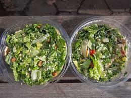 chopt and sweetgreen salads