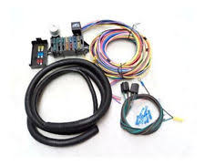 universal wiring kit universal 15 circuit street rod wiring wire harness kit
