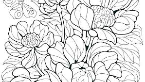 Cool Flower Coloring Pages P8865 Cool Flower Coloring Pages Cool