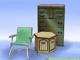 furniture items. image titled sell quality items in a garage sale step 5 furniture