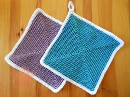 Crochet Potholder Patterns Magnificent Trendy Square Crochet Pot Holder